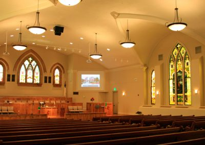 2c First Methodist Interior