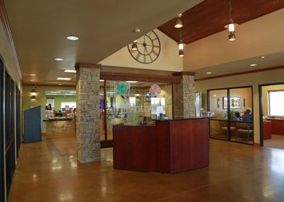 6b FFFCU Checotah Branch Interior