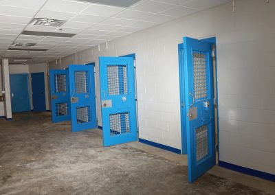 8b Tahlequah City Jail Remodel Interior